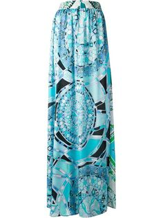 Emilio Pucci Patterned Skirt
