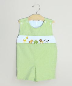 Take a look at this Lime Jungle John Johns - Infant & Toddler by Sweet Teas Children's Boutique on #zulily today!
