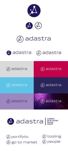 Adastra by Econocom -BtoB logo branding