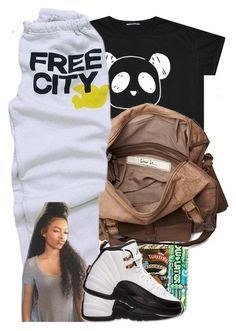 """""""Free City."""" by prvncessbeautifulmee ❤ liked on Polyvore featuring Friis & Company and Retrò"""