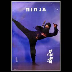 Ultimate Ninja Weapons Poster  $3.99