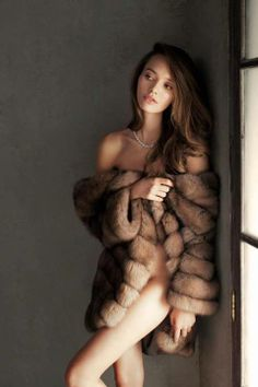 ...I always feel so sexy in fur ........