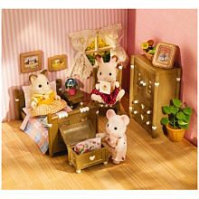 Calico Critters Country Bedroom Set Desu Desu, Sylvanian Families, Babies R Us, Toys R Us, Our Baby, My Childhood, Toy Chest, Cute Pictures, Christmas Gifts