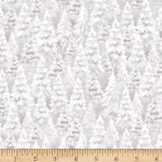 Woodland Wonder Tree Blender Light Khaki from @fabricdotcom  Designed by Sarah Summers for Quilting Treasures, this cotton print fabric is perfect for quilting, apparel and home decor accents. Colors include tan and white.