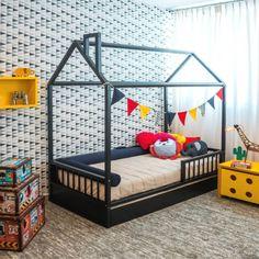 Baby Bedroom, Baby Boy Rooms, Little Girl Rooms, Baby Room Decor, Girls Bedroom, Toddler Floor Bed, Toddler Rooms, Big Girl Bedrooms, Baby Room Design