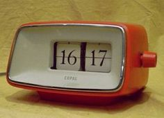 Copal Caslon 201 digital flip 24-hour clock