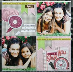 This would be a good Mother's Day layout