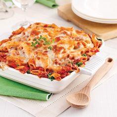 Gratin de pâtes, sauce italienne aux tomates séchées - Recettes - Cuisine et nutrition - Pratico Pratique