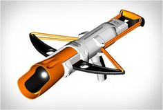 CROSSBOW SNOW LAUNCHER - http://www.gadgets-magazine.com/crossbow-snow-launcher/