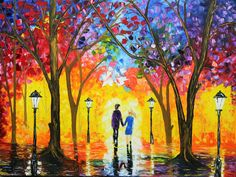 LOVE STORY, Painting by Galina Zimmatore