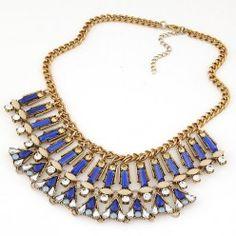 RKL6979 - Aksesoris Kalung Gemstone Collar