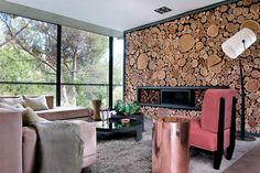 Un salon en osmose avec la nature