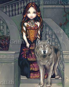 Wolf Countess by jasminetoad.deviantart.com on @deviantART