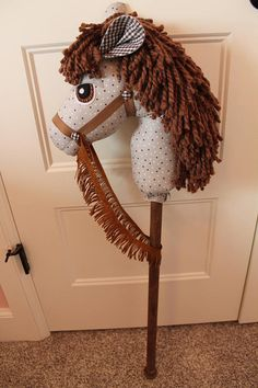 Our handmade stick horses (hobby horses) make a wonderful friend for your little one. We hope to encourage imaginative play and provide a more simple play time of days gone by. If you are looking for a unique, quality birthday or Christmas gift, you've found it! These will also make