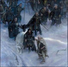 Nights Watch -A Song of Ice and Fire 2015 Calendar by DonatoArts on deviantART
