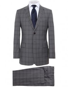 Paul Smith Grey Two Piece Check Suit