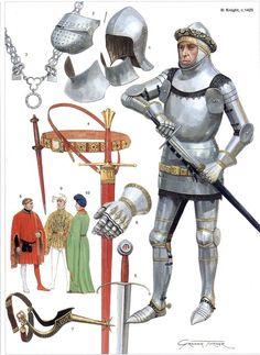 1425 Caballero madieval tardío