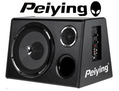 PEIYING PY250QA  Car Hifi Audio Box Active Subwoofer