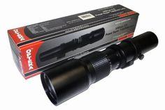 Opteka High Definition Preset Telephoto Lens for Canon EOS Rebel and Digital SLR Cameras, Black Nikon D3100, Nikon D3300 Lenses, Nikon Df, Sony A6000, Iphone 6, Canon Eos, Digital Camera Lens, Digital Slr, K 2000