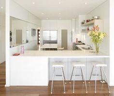 Iders in dulux whisper white floor australian brush box floorboards
