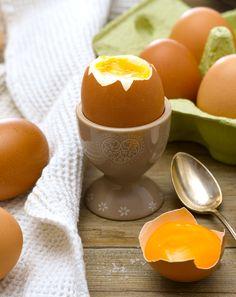 L'#œuf coque, vedette de nos petits-déjeuners d'été.