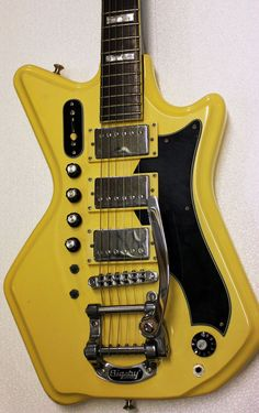 Eastwood Airline Custom Electric 3P Guitar