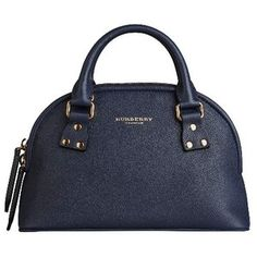 Burberry The Small Bloomsbury In Grainy Leather