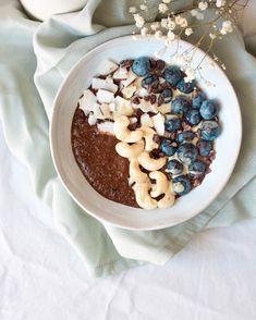 Brown Rice Porridge, Knock On The Door, Start The Day, Tahini, Acai Bowl, Breakfast, Recipes, Food, Acai Berry Bowl