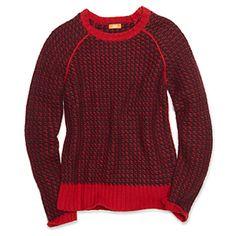#Pull rouge de Joe Fresh