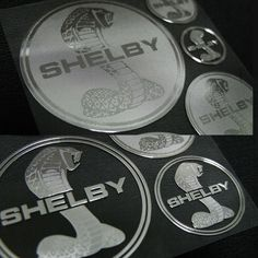 Car Metal Plate Stickers Decals for Shelby #Shelby