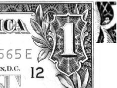"""Googled """"owl"""" images and this came up... who knew there was a tiny owl hiding on the one dollar bill?!"""