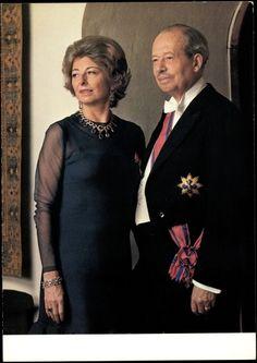 Fürst Franz Josef II und Fürstin Gina von und zu Liechtenstein