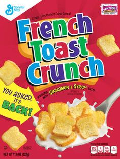 How Cereal Fanatics Talked General Mills Into Bringing Back French Toast Crunch | Fast Company | Business + Innovation