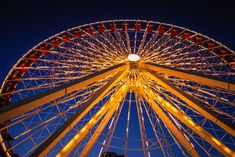 Because the London Eye is cute, but the Navy Pier Ferris Wheel is epic.