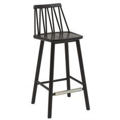 ZigZag barstol 63cm svartbets