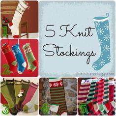 roundup :: knit Christmas stockings