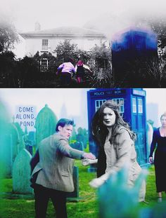 """Maybe it's just me, but I think Amy's death was kind of sweet...very VERY sad because she was leaving the Doctor, but she died WITH Rory...""""together or not at all""""...I thought it was a beautiful way for her to leave the show. <3"""