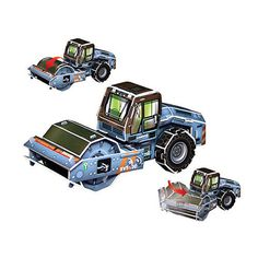Paper Toy Scale Model Kit for Kids Adult - Scholas Paper World Roller