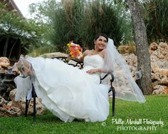 Beautiful Bride Crystal at Gabriel Springs north of Austin