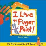 I love to finger paint by Jennifer Lipsey