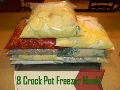 Crock Pot Freezer Meals- Part 2