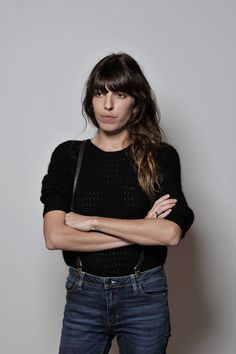 Lou Doillon Photos - Actress Lou Doillon during a Portrait Session at the Rome Film Festival at the Auditorium Parco Della Musica on November 2012 in Rome, Italy. - Jacques Doillon And Lou Doillon Portrait Session - The Rome Film Festival Charlotte Gainsbourg, Serge Gainsbourg, Jane Birkin, Tomboy Fashion, Boho Fashion, Girl Fashion, Fashion Outfits, Lou Doillon, French Girl Style