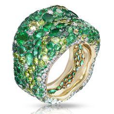 Fabergé 'Emotion' ring #emerald