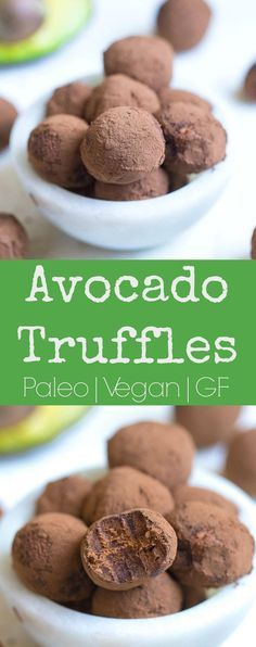 These decadent truffles are packed with nutrition, and yet, so delicious! So easy to make, and sure to be loved by everyone. #paleo #vegan #glutenfree