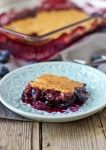 Easy Blueberry Cobbler | #vegan #glutenfree #dessert contentednesscooking.com