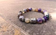 Bracelet Krabi Krabi, Violet, Pandora Charms, Beaded Bracelets, Charmed, Jewelry, Shades Of Green, Jewerly, Jewlery