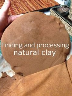 pottery techniques Harvesting Your Own Clay, Dirty But Delightful!: One of the many wonderful things about nature is that it provides so many wonderful opportunities to create with Youtube Design, Ceramic Techniques, Pottery Techniques, Ceramic Clay, Ceramic Pottery, Slab Pottery, Ceramic Bowls, Thrown Pottery, Ceramic Decor