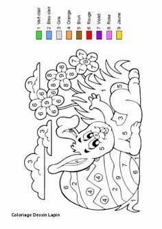 ausmalbild malen nach zahlen: ostereier ausmalen kostenlos ausdrucken   basteln mit papier