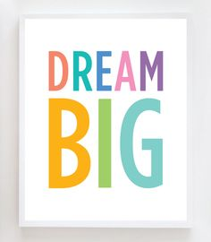 #Inspiration | dream big. The bigger the better.
