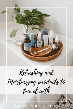 I have slowly curated refreshing and moisturizing products to travel with and hope this list can be helpful if you are looking for similar. Travel Beauty Routine, Beauty Routines, Travel Hairstyles, Face Spray, Eye Gel, Travel Toiletries, I Give Up, Travel Makeup, Life Insurance